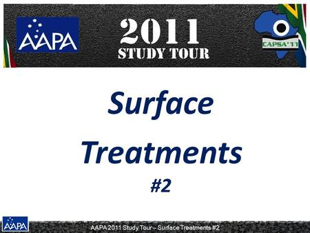 Surface Treatments #2.