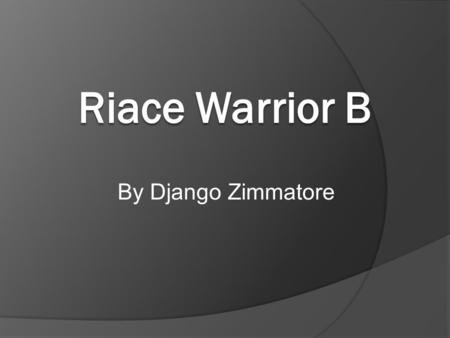 By Django Zimmatore. About Riace Warrior B  It was made in 430-420 BC by Alkamenes, an Ancient Greek sculptor  It was found in the sea near Riace,