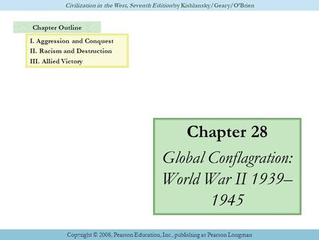chapter 5 outline world civilizaitons