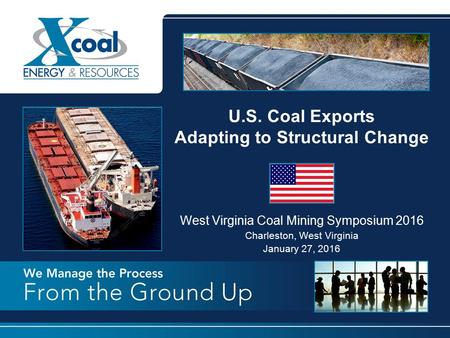 U.S. Coal Exports Adapting to Structural Change
