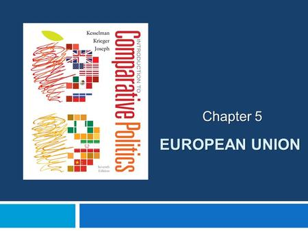 EUROPEAN UNION Chapter 5. THE MAKING OF THE EUROPEAN UNION  Politics in Action  French Foreign Minister Robert Schuman  Establishing a transnational.