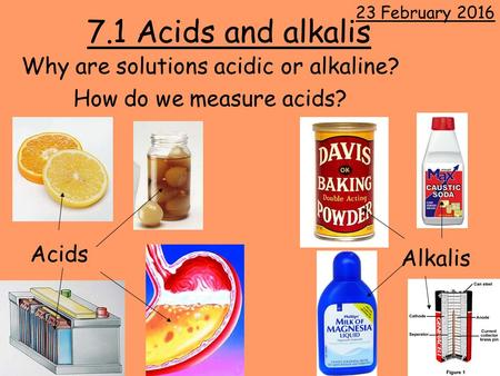 Why are solutions acidic or alkaline? How do we measure acids?