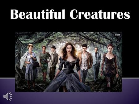 "Beautiful Creatures Ethan Wate has been down the months 'til he could leave the small town of Gatlin South Carolina. Between his mothers fatal ""accident"","