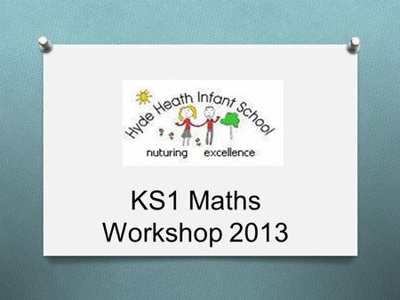 KS1 Maths Workshop 2013. … Show you how we teach some of the mathematical strands of 'number' and 'using and applying' Demonstrate how children need to.