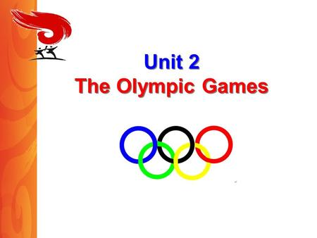 Unit 2 The Olympic Games. Reading AN INTERVIEW ? Between whom? About what? main idea.