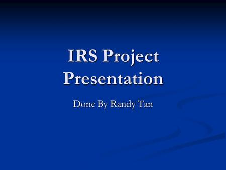 IRS Project Presentation Done By Randy Tan. Research Question Does wearing a swim cap or a swimsuit make you swim faster? Does wearing a swim cap or a.