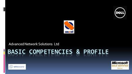 Advanced Network Solutions Ltd. We're here since year 2000  Established in 2000 having ~20 employees in-house,& 2 IT experts  Located in H'aLapid 15,