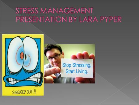 STRESSORS PHYSICAL STRESS COGNITIVE STRESS.