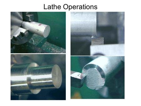 Lathe Operations. Numerical Control CNC or Computer Numerical Control is a term derived from NC or Numerical Control. NC refers to Control of a process.