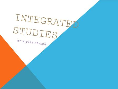 INTEGRATED STUDIES BY STUART PETERS. It is the nation's oldest active political party. It is about 30 years older than the Country (now National) Party.