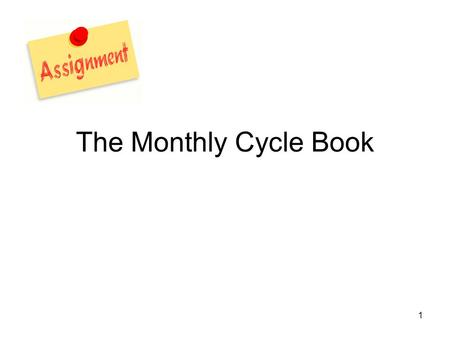 1 The Monthly Cycle Book. 2 3 3 Resources