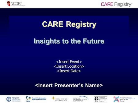CP1262561-1 CARE Registry Insights to the Future.