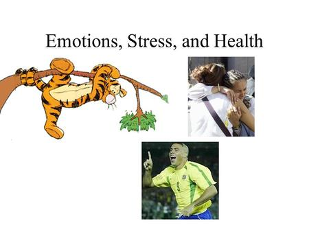Emotions, Stress, and Health. Emotion Purposes? 1.A safeguard of survival 2.An enrichment of experience 3.A powerful communication system.