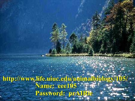 Name: eee105 Password: prAIRie.