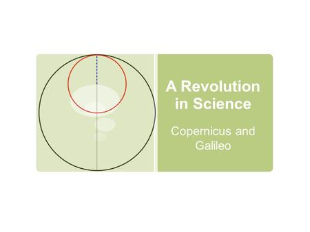 A Revolution in Science Copernicus and Galileo. Nicolas Copernicus  Born in Poland in 1473 to a rich merchant  Priest, philosopher, doctor, and mathematician.