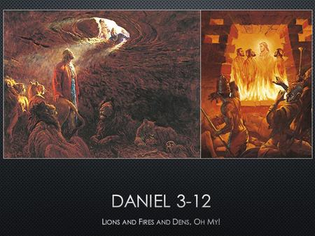 Daniel 3:16–18 What are some situations today in which it might be difficult to show your faithfulness to the Lord?