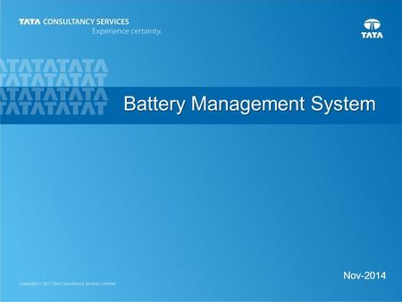 1 Nov-2014 Battery Management System. 2 Current Industrial Trend A hybrid electric vehicle or HEV is powered by a combination of a gasoline engine and.