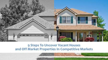 WHAT YOU WILL LEARN How I Made $150,000 This Month Fixing And Flipping 2 Houses Why You Need To Know Your Market Better Than Anyone How To Find Vacant.