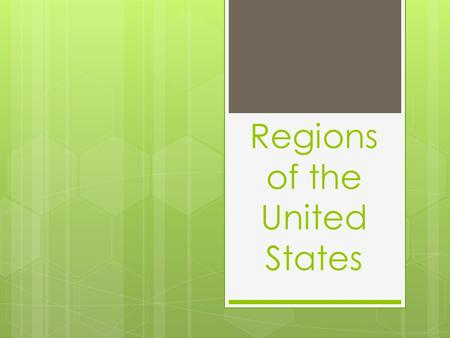 Regions of the United States. Midwest Geography:  Most of the Midwest is flat or rolling land, called the Central Plains.  The grasses of this prairie.