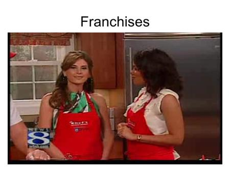 Franchises. Select a Type of Ownership Steps to purchase/start a business.