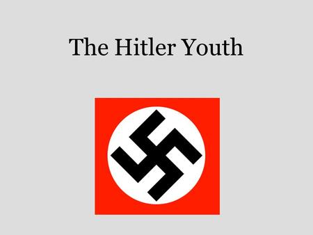 The Hitler Youth. Nazi Education  OgEA&feature=related.
