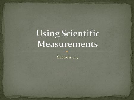 Section 2.3. Accuracy: the closeness of measurements to the correct or accepted value of the quantity measured Precision: the closeness of a set of measurements.