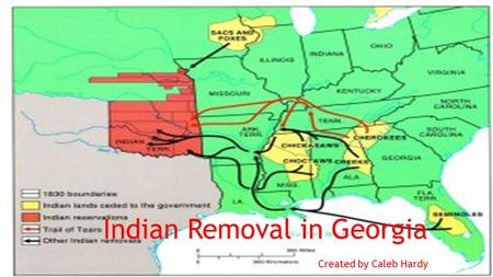 Indian Removal in Georgia