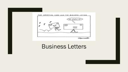 Writing Application Letters ppt video online download – Standard Business Letter Format