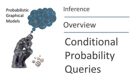 Daphne Koller Overview Conditional Probability Queries Probabilistic Graphical Models Inference.