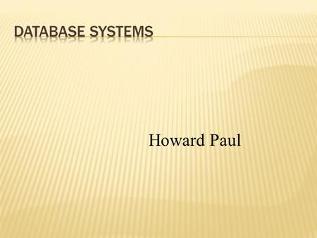 Howard Paul. Sequential Access Index Files and Data File Random Access.