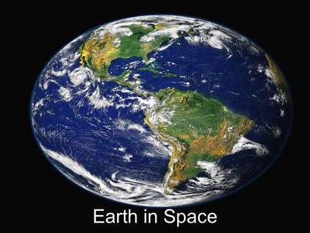 Earth in Space. How Earth Moves Earth moves through space in two major ways: rotation and revolution.