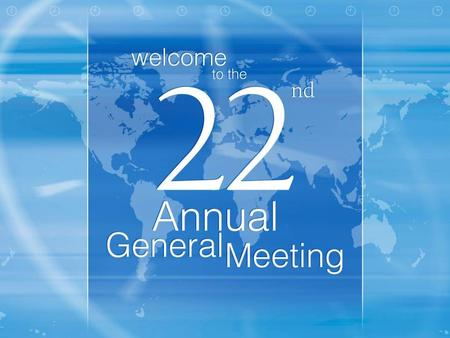Annual General Meeting © Infosys Technologies Limited 2002-2003 Financial Performance 2002 - 2003 V. Balakrishnan Company Secretary and Vice President.