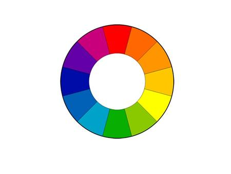 Primary, Secondary, Tertiary Colours TINT- A hue plus white SHADE- A hue plus black.