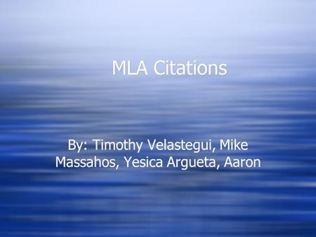 mla website citation within essay