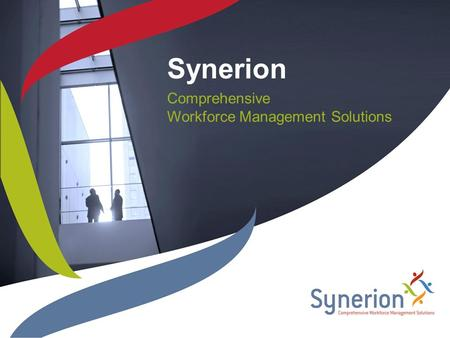 Synerion Comprehensive Workforce Management Solutions.