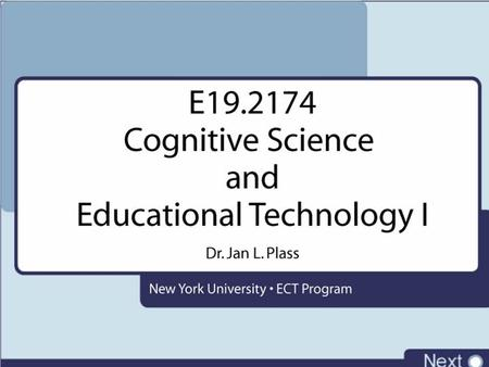 Cognitive Science Overview Introduction, Syllabus
