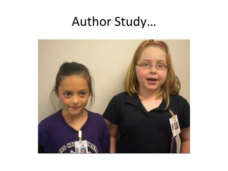Author Study…. Comparing Roald Dahl and Beverly Cleary By Inga and Marissa.