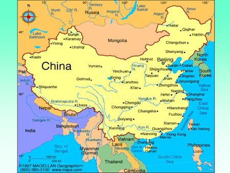 The People's Republic of China Area Population Capital People Language Religion Government Head of State ( PRC ) 9,600,000 sq km 1.24 billion Han ( ethnic.