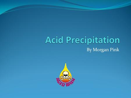 By Morgan Pink. Negative effect of acid rain The acid in acid rain lowers the pH and strips it of carbonate ions this hampers the ability of marine animals.