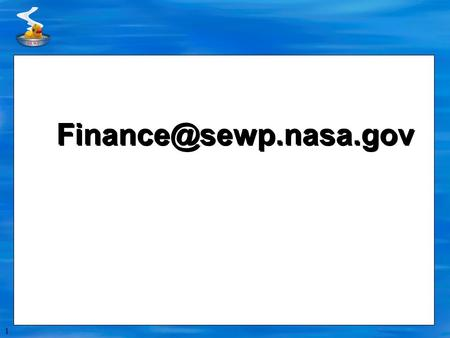 1 2 SEWP Quarterly Statements  Reconciliation statement  Old Orders (2007, 2008, 2009 and 2010)  Open Order Statements (SEWP.