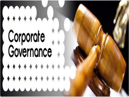 BUSINESS ETHICS IN CORPORATE GOVERANCE
