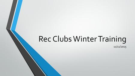Rec Clubs Winter Training 11/11/2015. Issues While Travelling Who to contact- Hotel/Flight/Off Campus Rental Cars-Paul Oldham 801-626-8024 On Campus Rental.