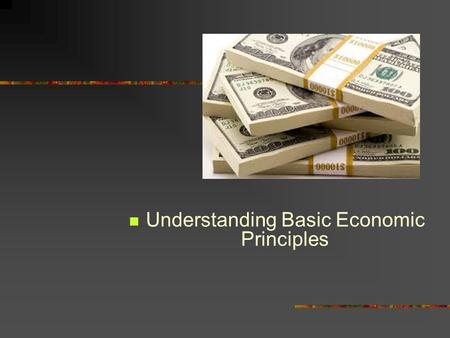 the eight basic principles of economics Start studying 8 economic principles learn vocabulary, terms, and more with flashcards, games, and other study tools.