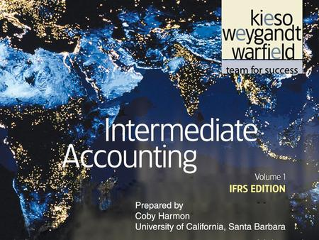 Slide 3-1. Slide 3-2 C H A P T E R 3 THE ACCOUNTING INFORMATION SYSTEM Intermediate Accounting IFRS Edition Kieso, Weygandt, and Warfield.
