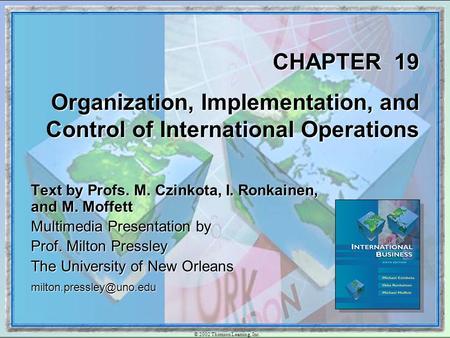 principles of international marketing czinkota ronkainen pdf