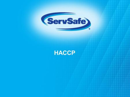 HACCP Instructor Notes