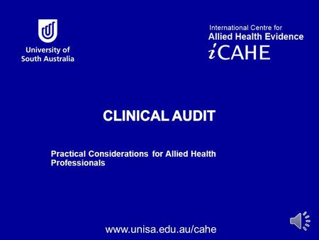 Practical Considerations for Allied Health Professionals