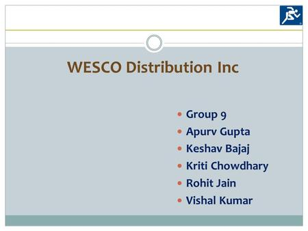 wesco distribution inc Discover company info on wesco distribution, inc in boston, ma, such as contacts, addresses, reviews, and registered agent bizapedia is the leading internet source for information that many companies want to keep a secret from you.