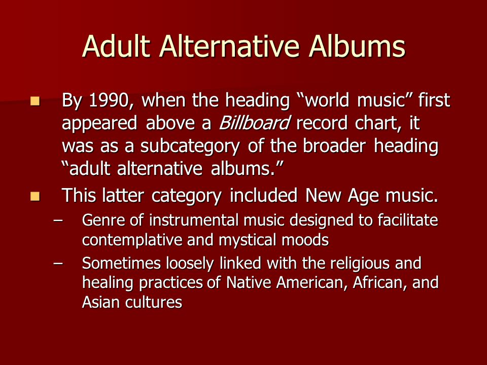 What, then, is world music.