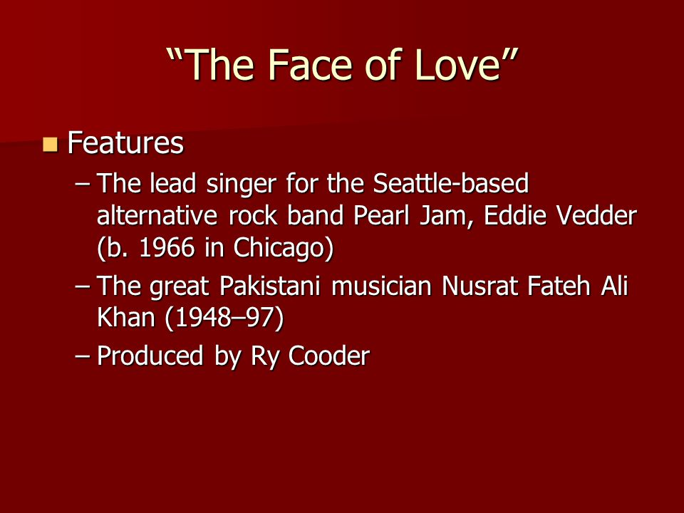 Nusrat Fateh Ali Khan (1948–97) Khan was a leading performer of qawwali, a genre of mystical singing practiced by Sufi Muslims in Pakistan and India.